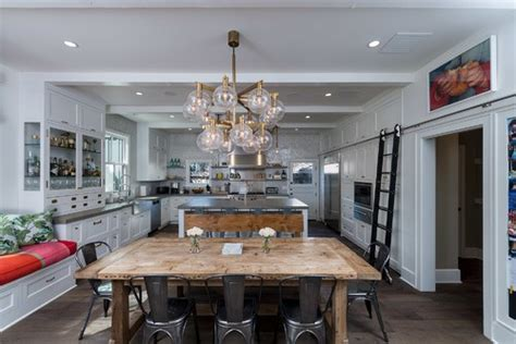 kitchen island instead of table 7 ways to use vintage barn doors in your interior design