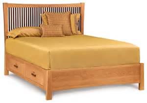 Japanese Platform Bed With Storage Berkeley Cherry Storage Bed Asian Platform Beds By
