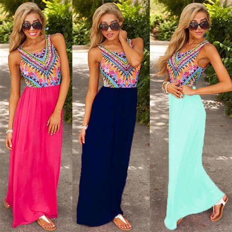 Promo Dress Shakira Uk 2 3 Th Dress Yukensi Dress Murah Dress Balita 2016 new summer maxi evening dress dresses sundress uk 6 20 wholesale in