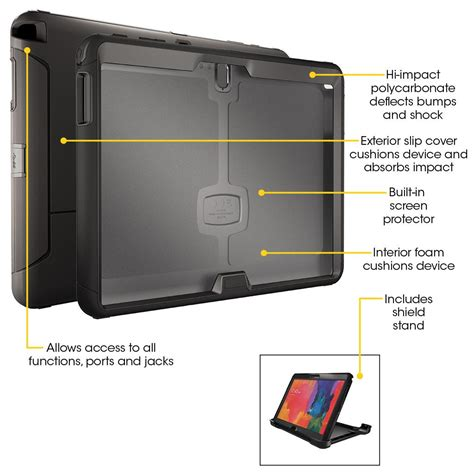 amazon com otterbox 77 42605 defender series case for otterbox samsung defender galaxy tab pro 12 2 77 42605