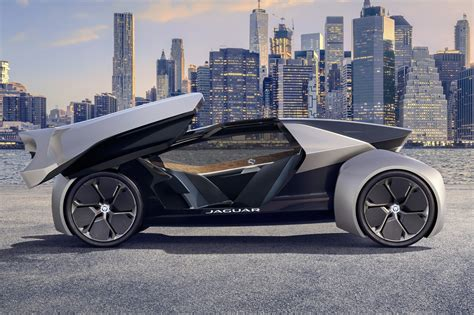 Jaguar Land Rover 2020 Vision by Jaguar Future Type Concept At 2017 Frankfurt Motor Show