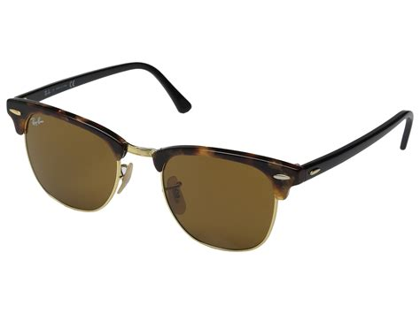 Frame Rayban Rayban Club Master Premium 3 ban clubmaster 49mm in brown for lyst