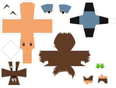 Papercraft Patterns - papercraft pattern newmexico by porcelian doll on deviantart