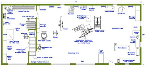 small woodworking shop floor plans plans diy