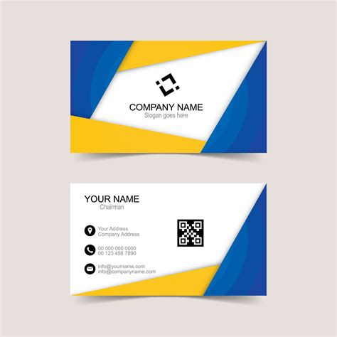 Design Card Template by Business Cards Design Templates Free Gallery Card Design