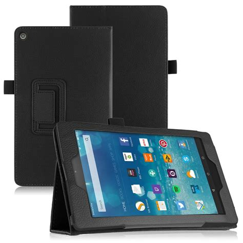 Casing Tablet 7 Inci 2015 folding folio leather stand cover for kindle 7 8 10 tablet ebay
