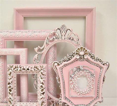 Shabby Chic Frames Fresh Pastel Pink Picture Frame Set