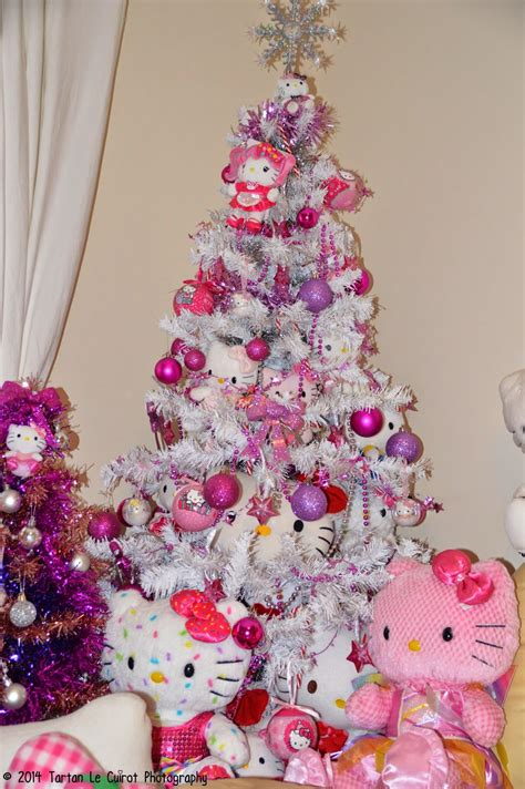 staying super kawaii kitty christmas cute decorations kitty tree