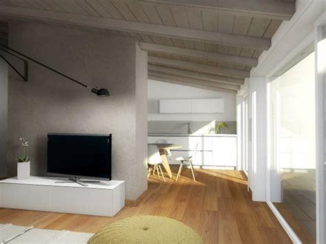 arredare mansarda moderna mansarda una casa sottotetto luminosa e contemporanea