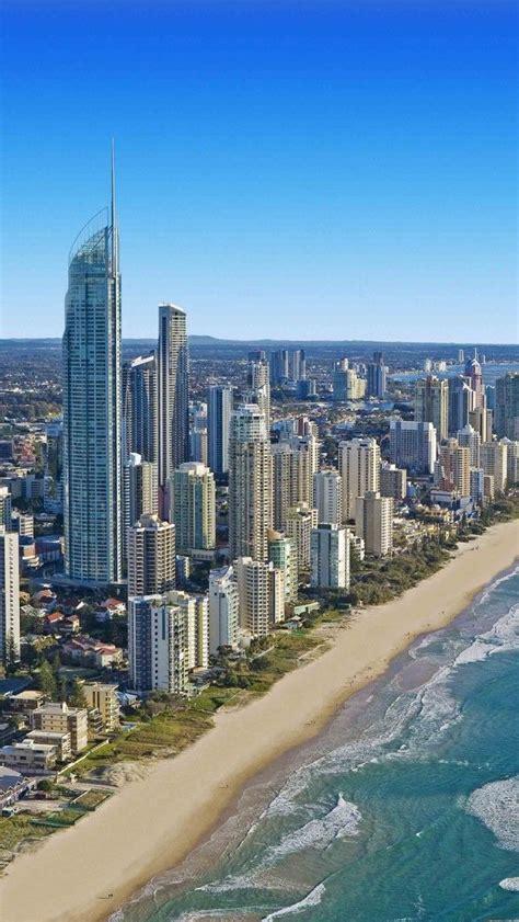 wallpaper gold coast australia beach cityscapes sea australia gold coast iphone 5