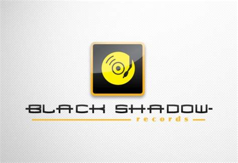 Shadow Records Black Shadow Records Logo Jp Design