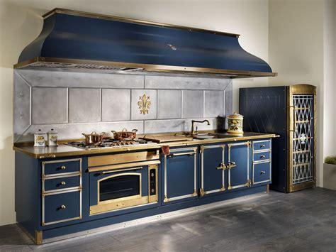 cucine gullo cuisine 233 aire en m 233 tal blue by officine gullo