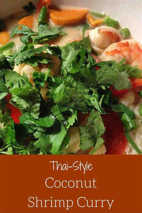 Thai coconut shrimp recipes   South beach phase one meal plan