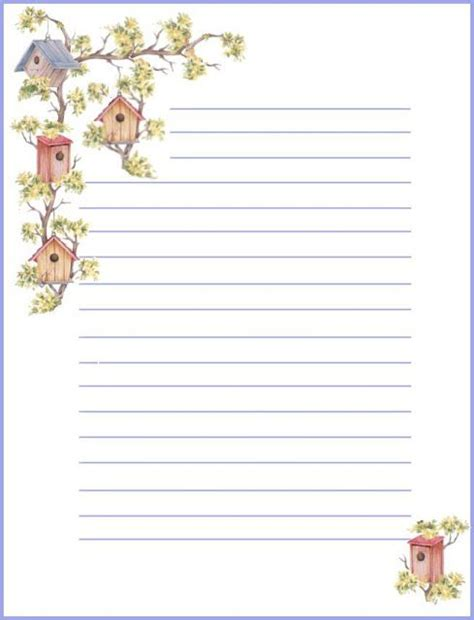 printable recipe stationery 45 best images about printable stationary on pinterest