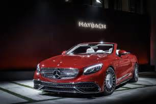 Mercedes Maybach Mercedes Maybach S650 Cabriolet Photos Features