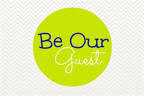 Be Our Guest by Free Printables For The Guest Room The Inspired Hive
