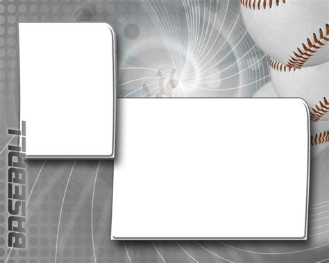 memory mate templates baseball photo templates