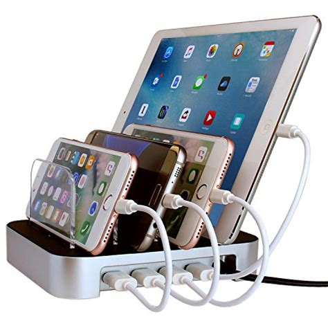 charging station for phones simicore usb charging station dock organizer for
