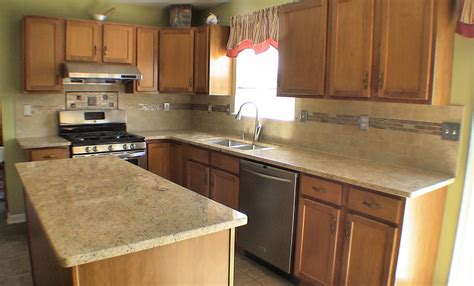 Inexpensive Update for your Kitchen: Granite Countertops
