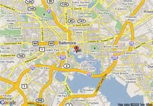 map of garden inn baltimore inner harbor baltimore