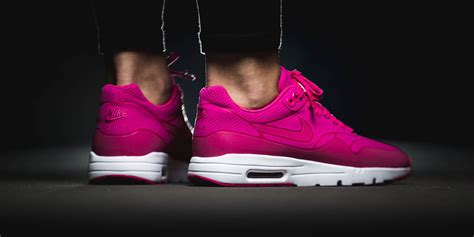 Marinka Maxy Pink Mo 1 Nike Air Max 1 Ultra Moire Pink Trainers Sale Uk