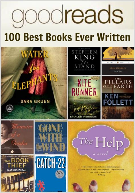 need to a novel books goodreads 100 books you should read in a lifetime