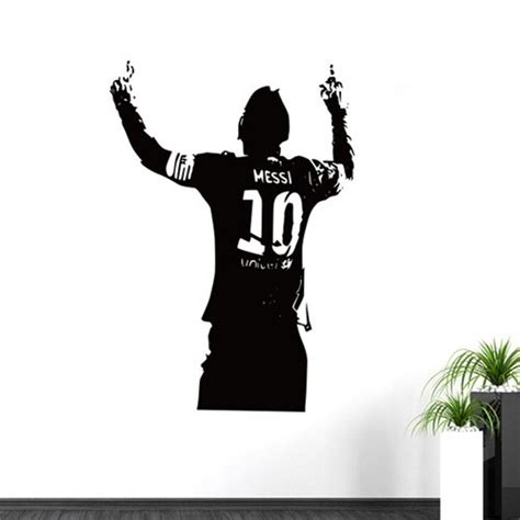Aliexpress Home Decor by New Creative Diy Sports Footballer Wall Stickers Kids Boys