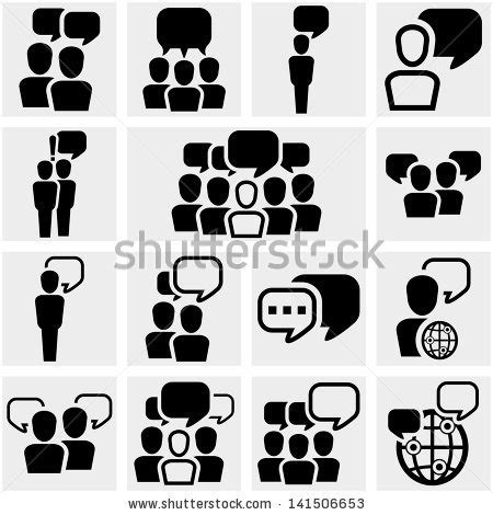 office and business vector icons set on gray royalty free stock images image 33973149 social icons stock vector 137212535