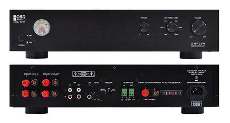 osd audio smp mono  watt subwoofer rack mountable