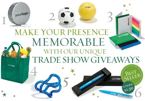 Trade Show Promotional Giveaways - hot trade show giveaways