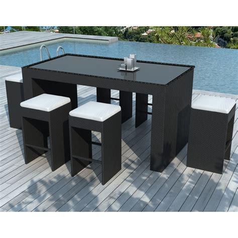 hartz 4 stuhl garten m 246 bel bar und 6 st 252 hle porto in gewebte harz