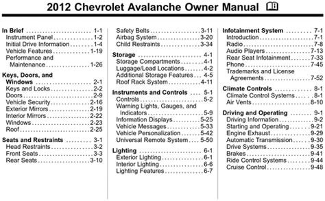 auto repair manual free download 2009 chevrolet avalanche interior lighting service manual car manuals free online 2012 chevrolet avalanche parking system 2007 chevy