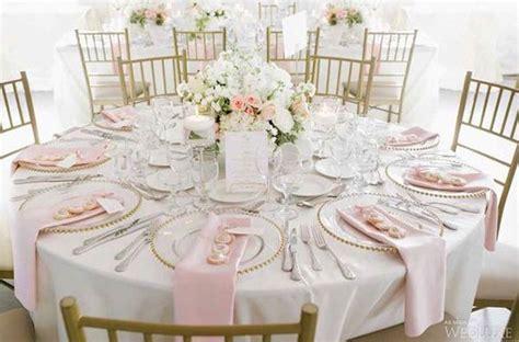 blush pink wedding table decor best 25 white wedding linens ideas on white