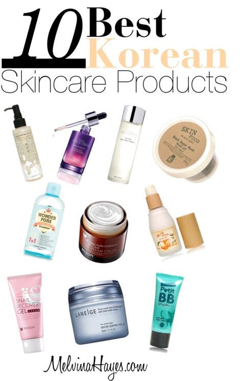 best bb brand top 10 korean skincare products melvinahayes korean