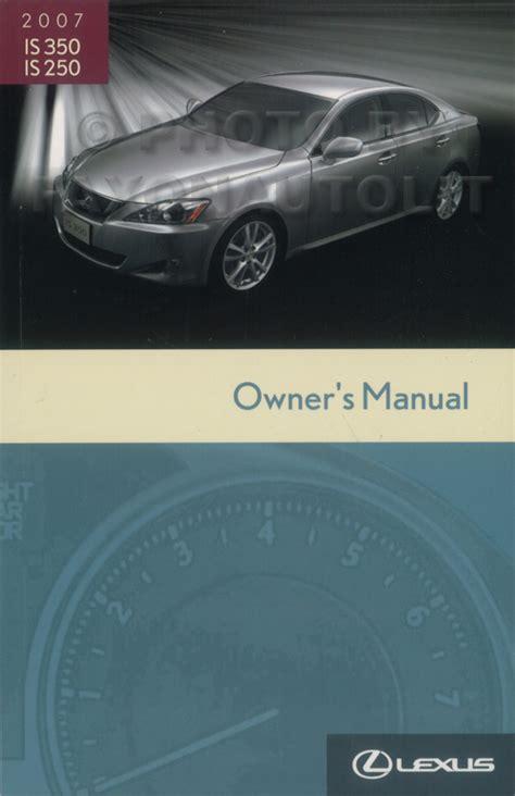 old cars and repair manuals free 2007 lexus ls electronic valve timing 2007 lexus is 350 is 250 repair shop manual set original