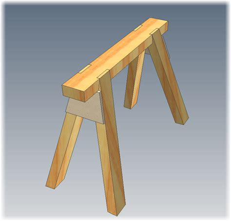 Saw Stool by Entry To Carpentry Course 2011 April 2011