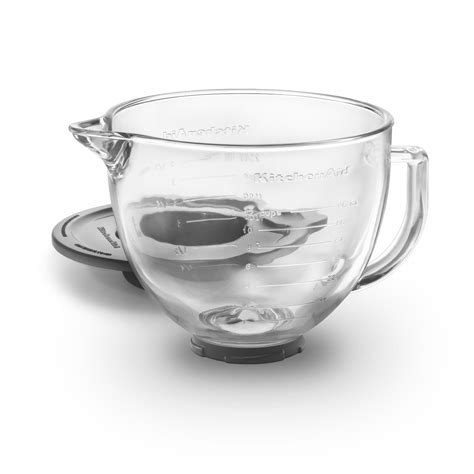Stand Mixer Bowl kitchenaid k5gb 5 quart glass stand mixer bowl