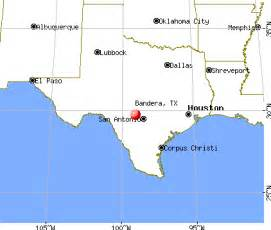 map of bandera bandera tx 78003 profile population maps real