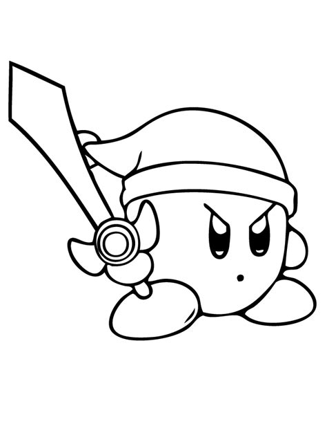 Coloring Page Of A kirby coloring pages coloring home