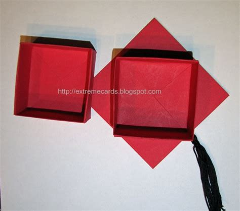 How To Make A Paper Graduation Cap - graduation cap money gift box 183 how to make a paper box