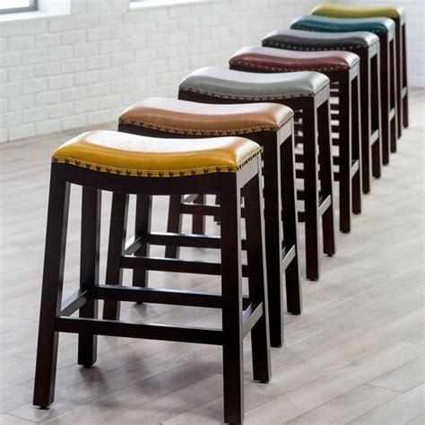 Saddle Seat Stools Kitchen Furniture by Best 25 Saddle Bar Stools Ideas On West Elm
