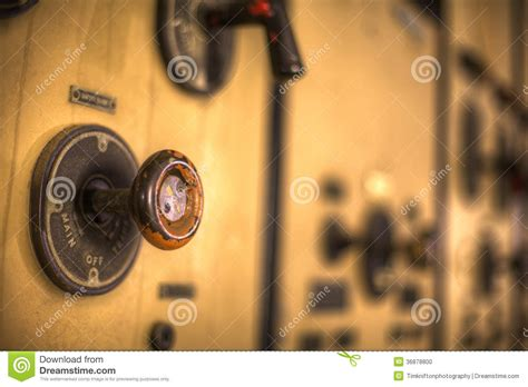 industrial knob stock photo image 36878800