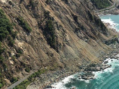 earthquake kaikoura kaikoura earthquake fault line footage