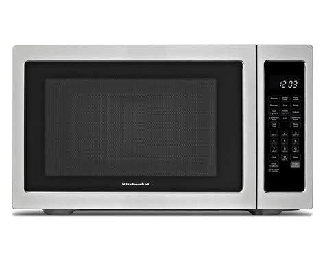 Kitchenaid Microwave Grill Kitchenaid Kcmc1575bss 1 5 Cu Ft Countertop