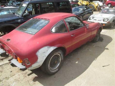 72 Opel Gt by 69 70 71 72 73 Opel Gt Drivers Left Front Lower