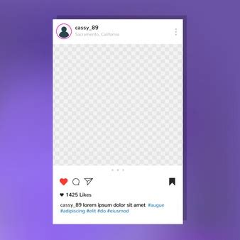 Instagram Vectors Photos And Psd Files Free Download Instagram Post Template