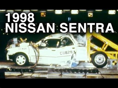 Rear End Crash Tests by 1998 Nissan Sentra Rear Crash Test 70 Overlap By