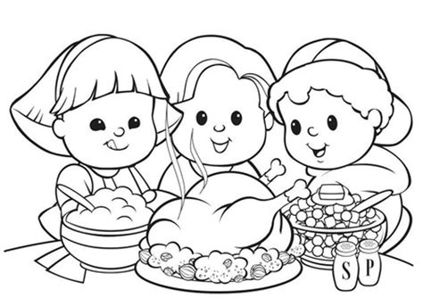 coloring pages for thanksgiving feast 16 free thanksgiving coloring pages for kids toddlers
