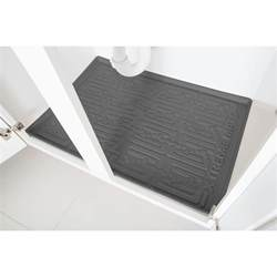 Kitchen Sink Cabinet Tray Xtreme Mats Grey Kitchen Depth Sink Cabinet Mat Drip Tray Shelf Liner 33 1 8 In X 21 1 4