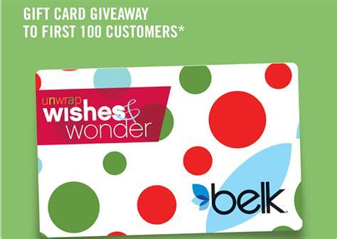 Belk Gift Card Online - free gift card at belk 12 21